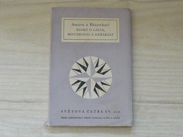 Amaru a Bhartrhari - Sloky o lásce, moudrosti a odříkání (1959) Světová četba 220