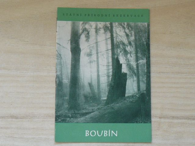 Boubín - Státní přírodní rezervace (1968)