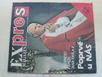 Expres magazín 1-26 (1990) chybí čísla 1-7, 10 (18 čísel) komiks Saudek
