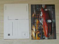 Pressfoto - Autosalón - automobily devadesátých let (15 pohlednic v obálce)