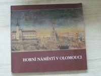 Horní náměstí v Olomouci (1995) Katalog výstavy
