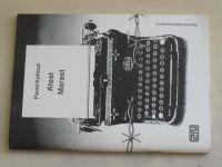 Kohout - Atest, Marast (1990) Řada studiových textů