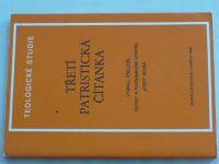 Novák - Teologické studie - Třetí patristická čítanka (1985)
