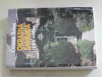 Böhm - Okrasná zahrada a její rostliny (1988)