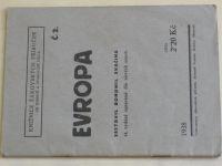 Svačina - Evropa (1938)