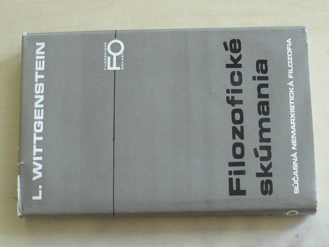Wittgenstein - Filozofické skúmania (1979)