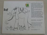 Černá, Vodňanský - Omalovánky a počítánky (1975)