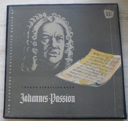 Johann Sebastian Bach - Johannes-Passion BWV 245 - Erster Teil (nedatováno)