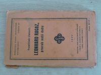 Knihovna Svazu národního osvobození sv. 107 - Linhart - Leonhard Ragaz, prorok naší doby (1935)