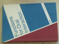 Mothejzíková - Functions for Oral Interaction (1991)