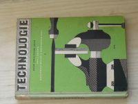 Technologie - Ruční zpracování kovů - pro I. ročník odborných učilišť a učňovských škol (1961)