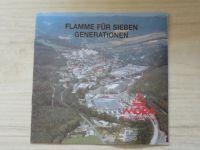 Flamme für Sieben Generationen - MORA Mariánské údolí - Plamen pro sedm generací, německy