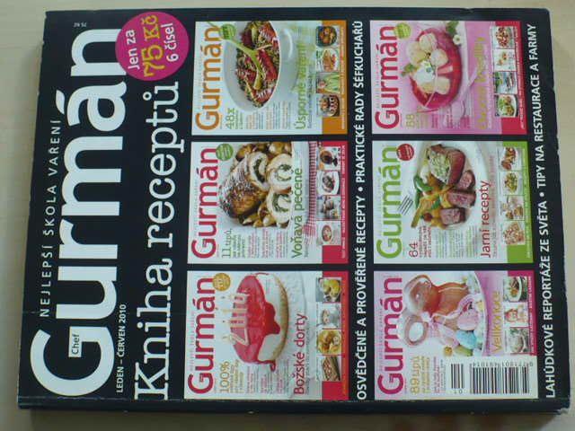 Gurmán 1-6 (2010) kniha receptů
