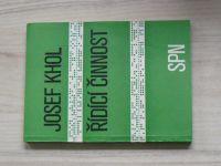 Josef Khol - Řídící činnost (SPN 1978)