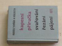 Krňák - Kapesní příručka svařování, řezání, pájení (1962)