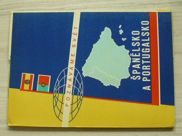 Poznáváme svět č. 11 - Španělsko a Portugalsko 1 : 1 500 000 (1963)