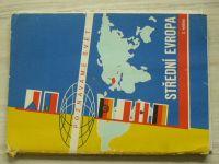 Poznáváme svět č. 12 - Střední Evropa 1 : 1 500 000 (1971)
