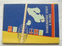 Poznáváme svět č. 13 - Skandinávské státy a Island 1 : 3 000 000 (1964)