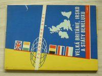 Poznáváme svět č. 7 -  Velká Británie, Irsko a státy Beneluxu 1 : 1 500 000 (1967)