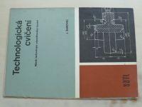 Šanovec - Technologická cvičení - Návrh technologie zápustkového kování (1987)