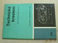 Technické kreslení - Sbírka úloh pro SPŠ strojnické (1986)