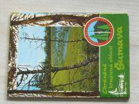Chráněná krajinná oblast - Šumava (nedatováno) 12 pohlednic