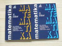Matematika 1,2,3,4 část - pro střední odborné školy a studijnéí obory SOU (2004) 4 knihy
