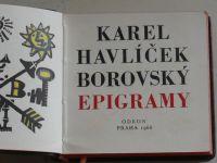 Borovský - Epigramy (1966)