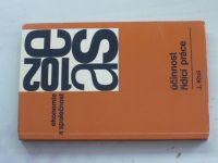 Khol - Ekonomie a společnost - Účinnost řídící práce (1977)