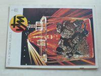 Věda a technika mládeži 1-24 (1988) ročník XLII. (chybí čísla 2-7, 11-12, 14-15, 22, 13 čísel)