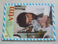 Věda a technika mládeži 12 (1986) ročník XL.