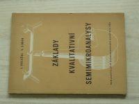 Doležal, Simon - Základy kvalitativní Semimikroanalysy (1953)