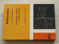 Maťátko, Foitová - Elektronika - Elektronické součástky a základní obvody (1981) pro 3. ročník SPŠE slaboproudých