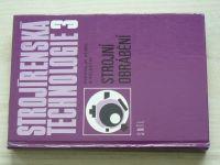 Němec a kol. - Strojírenská technologie 3 - Strojní obrábění (1982)