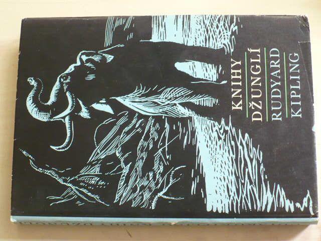 Rudyard Kipling - Knihy džunglí (1974) il. Z. Burian
