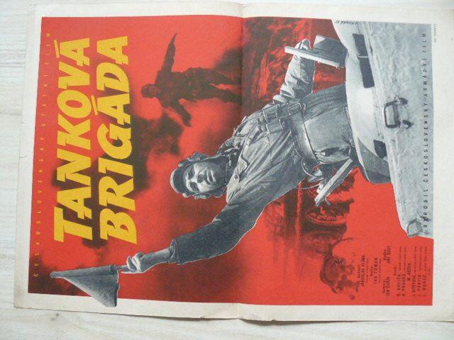 Tanková brigáda - Československý armádní film - plakát A3