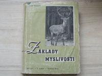 Žalman - Základy myslivosti, Myslivecká abeceda (1949)
