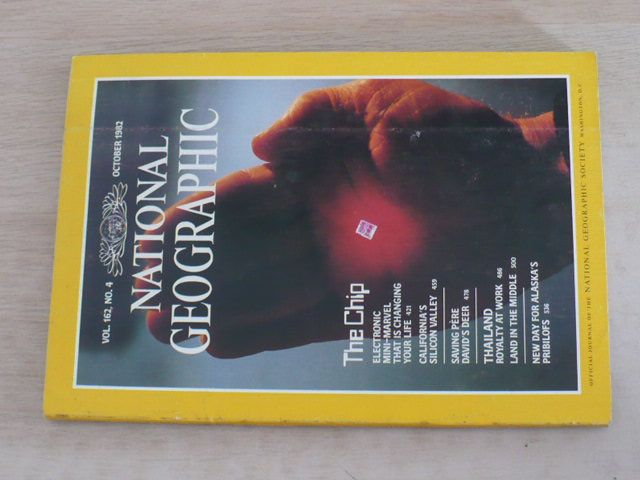 National Geographic (říjen 1982) anglicky