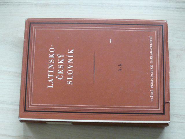 Pražák - Latinsko-český slovník A-K, L-Z (1955) 2 knihy