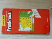 Euro Länderkarte 1 : 800 000 Frankreich (nedatováno) německy