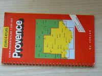 Euro - Pocketatlas 1 : 300 000 - Provence (1989) německy