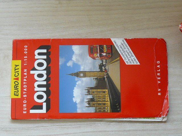 Euro - Stadtplan 1 : 15 000 - London (nedatováno)