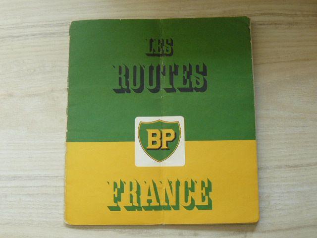 Les Routes France 1 : 1 000 000 (nedatováno) francouzsky