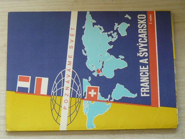 Poznáváme svět č. 18 - Francie a Švýcarsko 1 : 1 500 000 (1981)