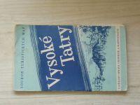 Soubor turistických map 1 : 75 000 - Vysoké Tatry (1957)