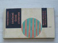 Buriánek - Současná česká literatura (1960)