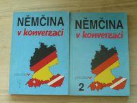 Němčina v konverzaci 1, 2 (1991) 2 knihy