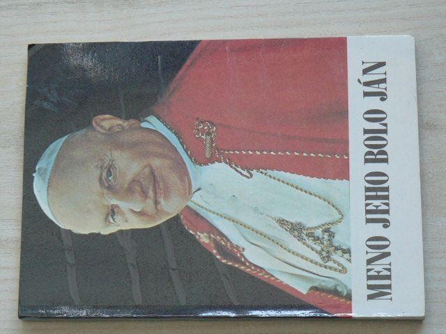 Meno jeho bolo Ján (1983) slovensky