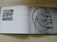 V.I.Lenin as portrayed by folk and applied artists in RSFSR (Moskva 1969)