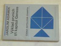 Adámek - Výklad prvních tří kapitol Geneze (1970)